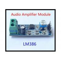 Amplifier Module LM386 Audio Amplifier Module 200 Times 5V-12V Input 10K Adjustable Resistance
