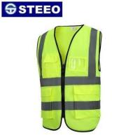 Buy cheap Wholesale high visibility pocket reflective safety vest from wholesalers