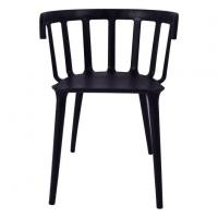 Plastic Stripe Dining Armchair Manufactures