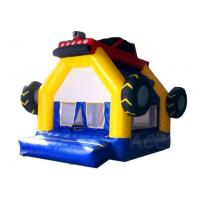 Inflatable Games Commercial Grade Inflatable Car Bouncy House Tire Theme Castle