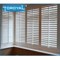 Buy cheap Norman White Shutters on Modern UK Kitchen Window Treatments Blinds PVC Shutters from wholesalers