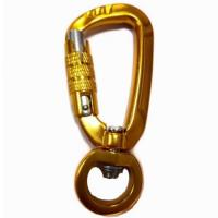 Leash Carabiner Aluminum swivel locking snap hook carabiner wholesale Manufactures