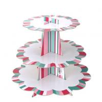 Cardboard Cake Stand with Scalloped Edges Manufactures