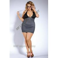 teacher costume with striped spandex stretchy halter dress Manufactures