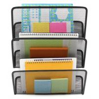 China EasyPAG 3 Tier Assembly Mesh Wall File Pocket Hanging File Organizer Holder on sale