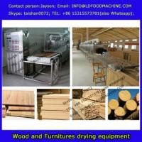 China microwave drying of wood solid wood decoration drying equipment/machinery on sale