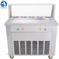 Buy cheap Fried ice cream machine Thailand Long Pan Fry Ice Cream Roll Machine from wholesalers