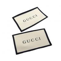 Famous Garment Brand GUCCI Custom Woven Neck Labels Manufactures