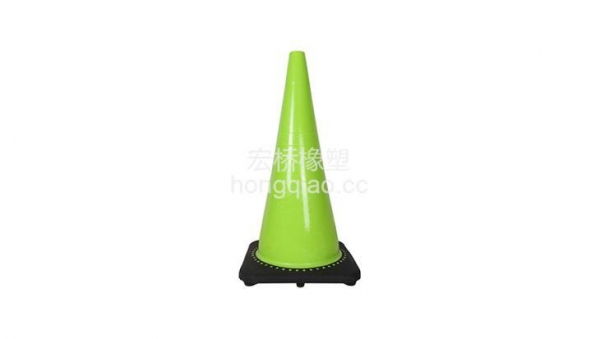 China 71 Cm High Cone Shape PVC with Black Base