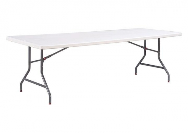 China 8ft Wide Rectangular Table