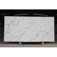 Quartz Slabs Fossil Grey Quartz Stone Manufactures
