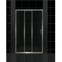 Buy cheap Triple Panel and Dual Sliding Shower Door Space Saving Design from wholesalers
