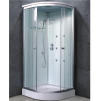 Buy cheap All in One Quadrant Shower Room Double Sliding Door with 2 Back Side Panles from wholesalers