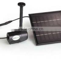 China garden Pond Fountain pump with Solar Pad on sale