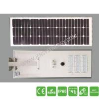 Buy cheap 60W Integrated Solar LED Lights with LiFePO4 Battery from wholesalers