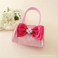Chinese cheap kids handbags,New design and excellent PU bags with decorated bows for kids Manufactures