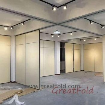 Quality Factory direct wooden sliding wall partition door eps cement panel dubai movable for exhibition for sale