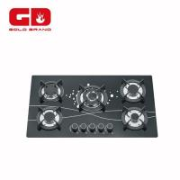 China Gas Hob Classic Five Burner Built In Gas Cooker Hob on sale