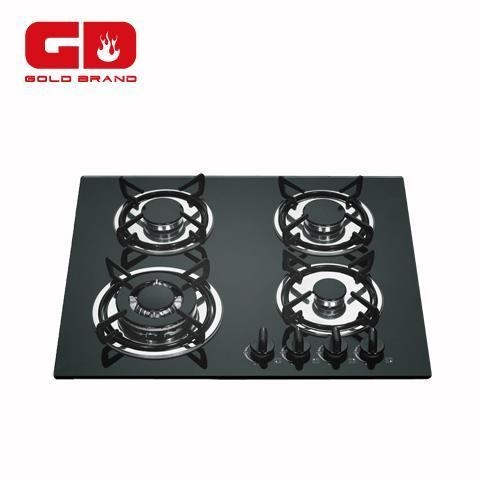 Quality Gas Hob Glass Gas Hobs with 4 Burner for sale