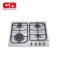 Gas Hob Stainless Steel Panel 4 Burner Gas Hob Manufactures