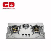 Buy cheap Gas Hob 3 Burners Built In Gas Hob Certified By CE from wholesalers