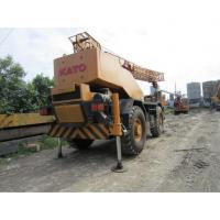 Buy cheap 4x4 KATO Used Rough Crane 25Ton from wholesalers