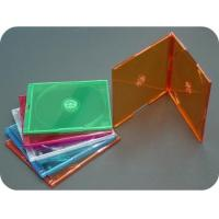 China CD / DVD / VCD Jewel Boxes 5.2mm Super Slim Double CD Jewel Box on sale