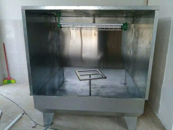 China Alloy Wheel Spray Booth Good Alloy Wheel Spray Booth