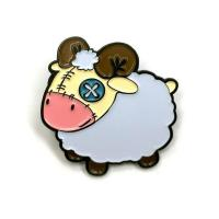 Cute Sheep Soft Enamel Lapel Pin Manufactures