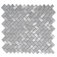 A18017 - White Mother of Pearl MOP Shell Tile for Shower Wall, 12 x 12 Manufactures