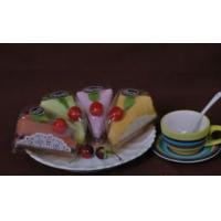 100% Cotton Cake Towel in Sanwich Shape (YT-9901) Manufactures