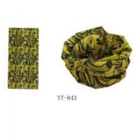 Buy cheap Bandana in Yellow and Black Color Design as YT-843 from wholesalers