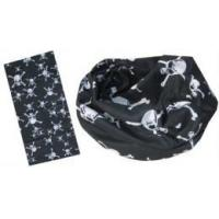 Buy cheap Multifunctional Scarf in black and white skull design (YT-892) from wholesalers