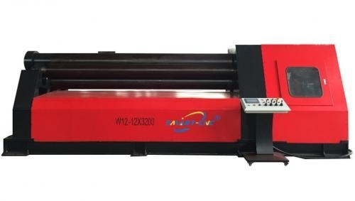 Quality CNC Four Rollers Plate Rolling Machine for sale