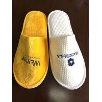 Hotel Amenities 5 Star Disposable Luxury Cotton Hotel Slipper Manufactures