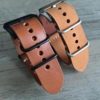 Complete watch Brown leather nato strap 20/22/24/26mm Manufactures