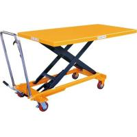 China Mobile Manual Hydraulic Scissor Lift Table Cart PTD500 on sale