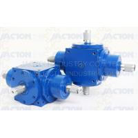 China JTP170 Bevel Gearbox 4 Way Right Angle Gear Drives on sale