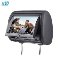 China 12V Back Seat 2 Channel Video Input Car DVD Headrest Monitor on sale