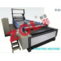 China Rotary Printing Machine for Pile Fabric on sale