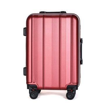 Quality 3pcs abs+pc aluminium alloy trolley luggage set for sale
