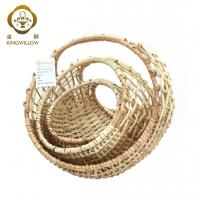 Buy cheap KINGWILLOW,Woven wooden fruit basket from wholesalers