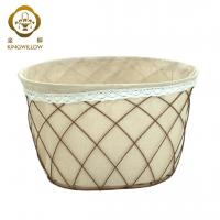 Buy cheap KINGWILLOW,wire mesh laundry basket hamper basket storage from wholesalers