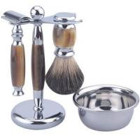 China shaving kit S001-Safetty4 Super safety razor set with shaving soap bowl on sale