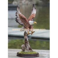 Garden Series SF12107-2 Resin Crafts Animal Scrupture Outdoor Eagle Statue Manufactures