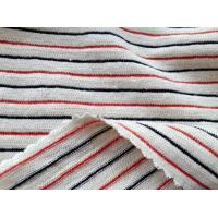 hemp organic cotton poly jersey strip fabric for baby clothes 173gsm Manufactures