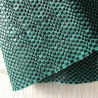 Green PP woven geotextile PP silt fence Manufactures