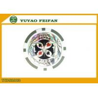 Buy cheap ABS Gray Authentic Casino Poker Chips Customized Poker Chips from wholesalers