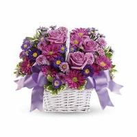 Daydreams Purple Rose Basket Manufactures