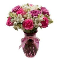 Buy cheap Lavish Pastel Rose Bouquet from wholesalers